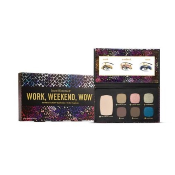 4bd946cab bareMinerals Work Weekend Wow eyeshadow palette NWT